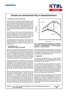 Einsatz von technischem CO2 in Gewächshäusern | KTBL
