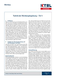 Shop - Weinbau | KTBL